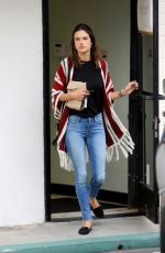 ALESSANDRA AMBROSIO Leaves a Pharmacy in Brentwood 05/13/2016