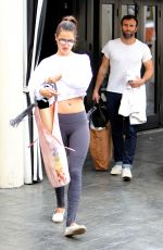 ALESSANDRA AMBROSIO Leaves Yoga Session in Brentwood 05/14/2016