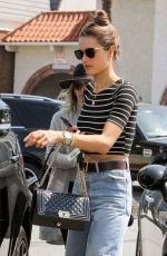 ALESSANDRA AMBROSIO Out in Los Angeles 05/24/2016