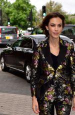 ALEXA CHUBG Arrives at Vogue 100 Festival in London 05/21/2016