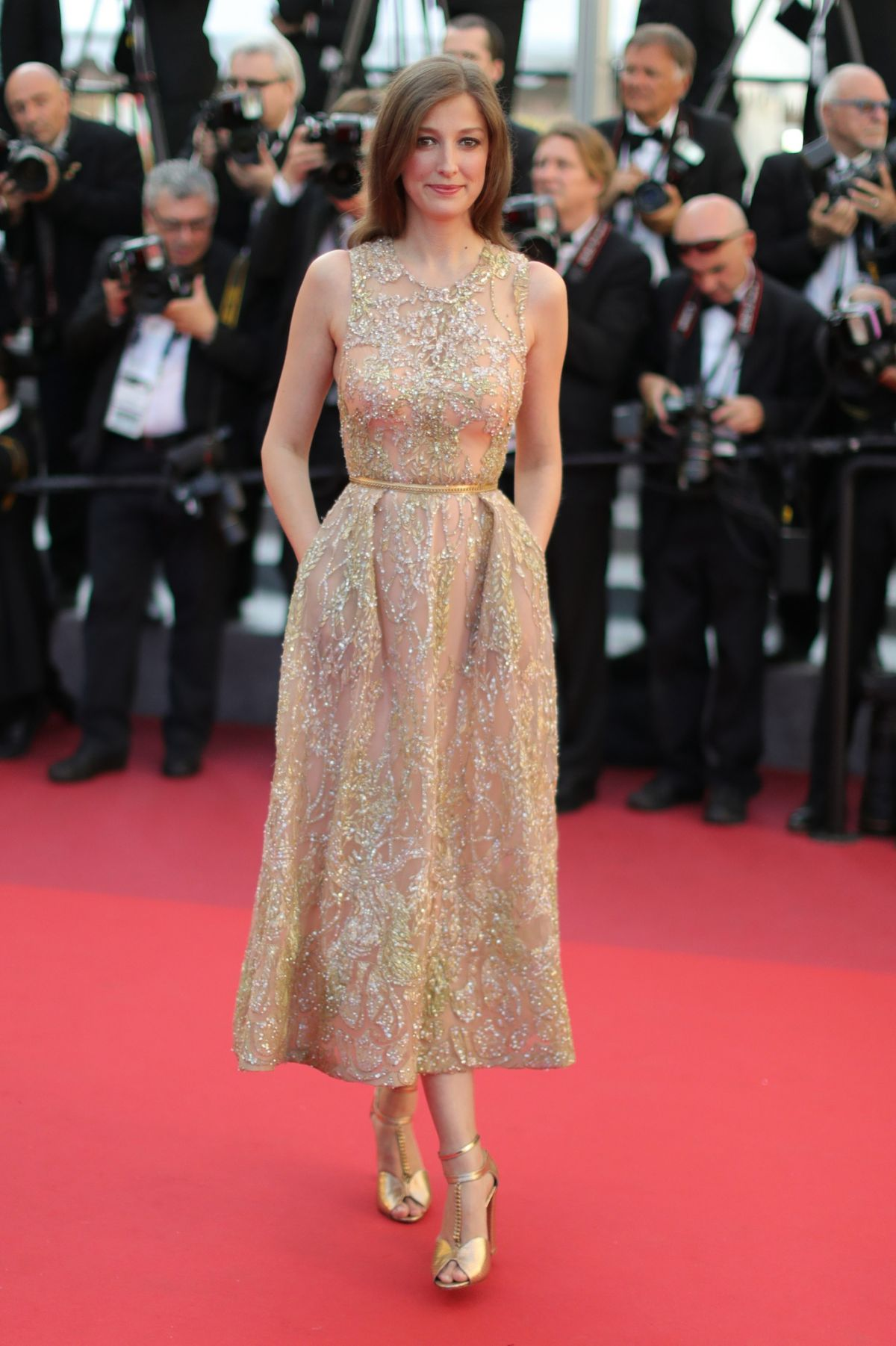 ALEXANDRA MARIA LARA at 'Elle' Premiere at 69th Annual Cannes Film Festival 05/21/2016