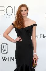 ALEXINA GRAHAM at Amfar's 23rd Cinema Against Aids Gala in Antibes 05/19/2016
