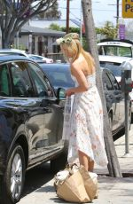 ALI LARTER at Au Fudge in West Hollywood 05/08/2016