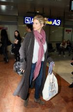 ALICE TAGLIONI at Nice Airport 05/10/2016