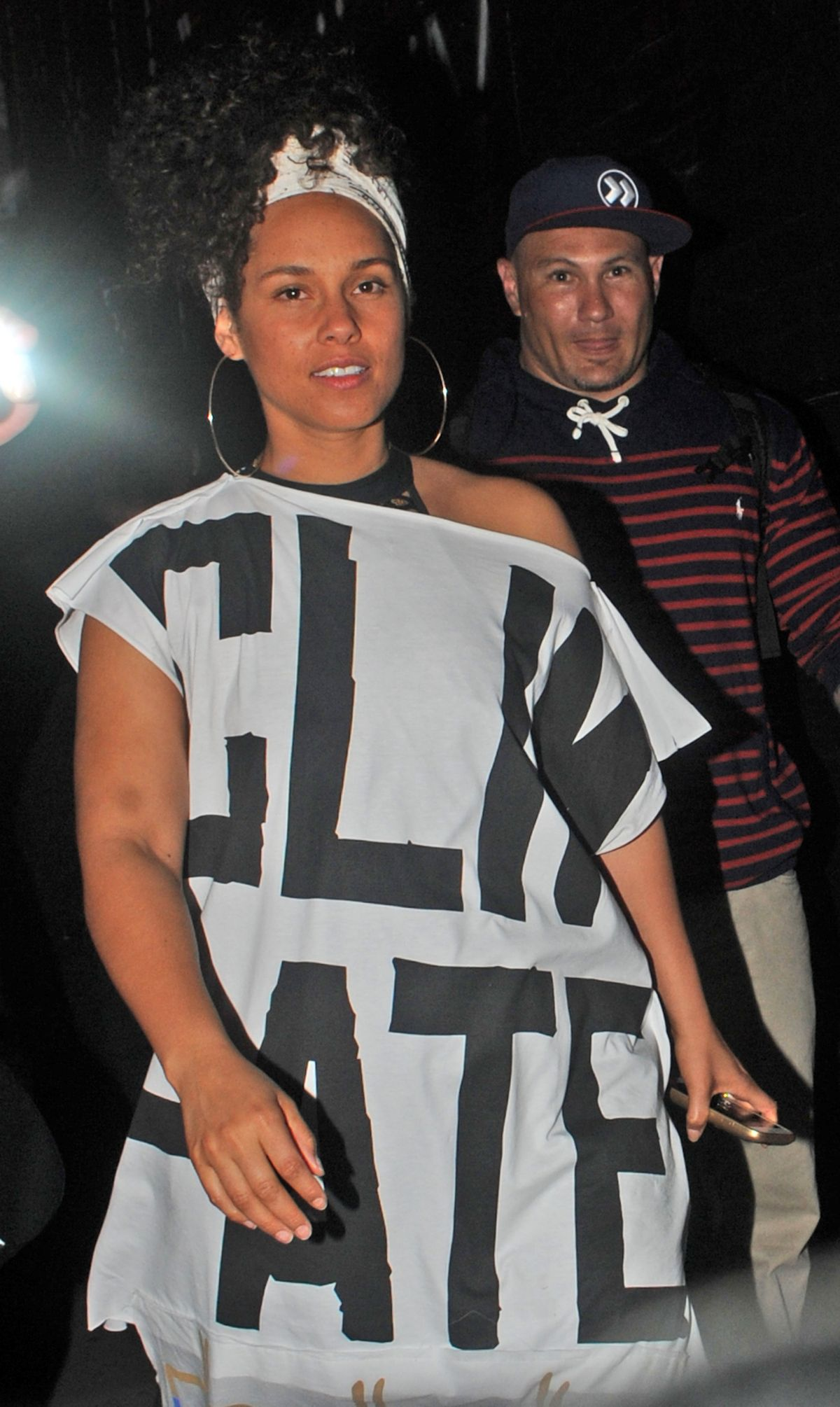 ALICIA KEYS Leaves Village Underground in London 05/27/2016