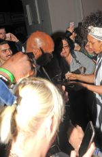 ALICIA KEYS Leaves Village Underground in London 05/27/2016