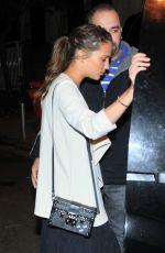 ALICIA VIKANDER Leaves Satyricon Restaurant in Rio De Janeiro 05/25/2016