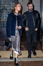 ALICIA VIKANDER Night Out in New York 05/01/2016