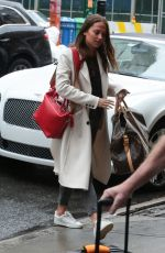 ALICIA VIKANDER Out and About in New York 05/01/2016