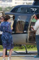 ALICIA VIKANDER Takes a Helicopter Ride in Rio De Janeiro 05/29/2006