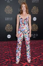 ALICIA WITT at Alice Through the Looking Glass Premiere in Hollywood 05/23/2016
