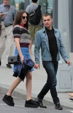 ALISON BRIE Out and About in New York 05/21/2016