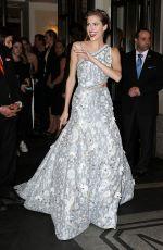 ALLISON WILLIAMS at Costume Institute Gala 2016 in New York 05/02/2016