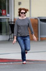 ALYSON HANNING Out Shopping in Los Angeles 05/19/2016