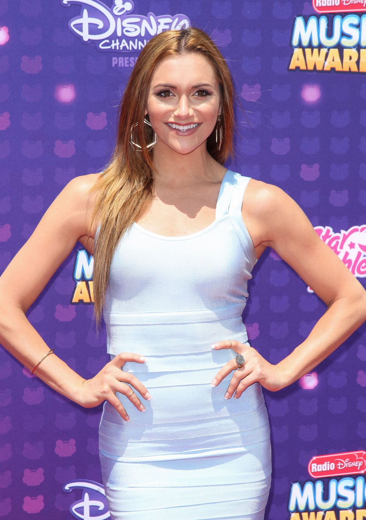 ALYSON STONER at 2016 Radio Disney Music Awards in Los Angeles 04/30/2016