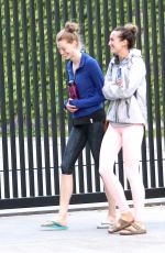 ALYSSA SUTHERLAND Leaves a Yoga Class in Los Angeles 05/04/2016
