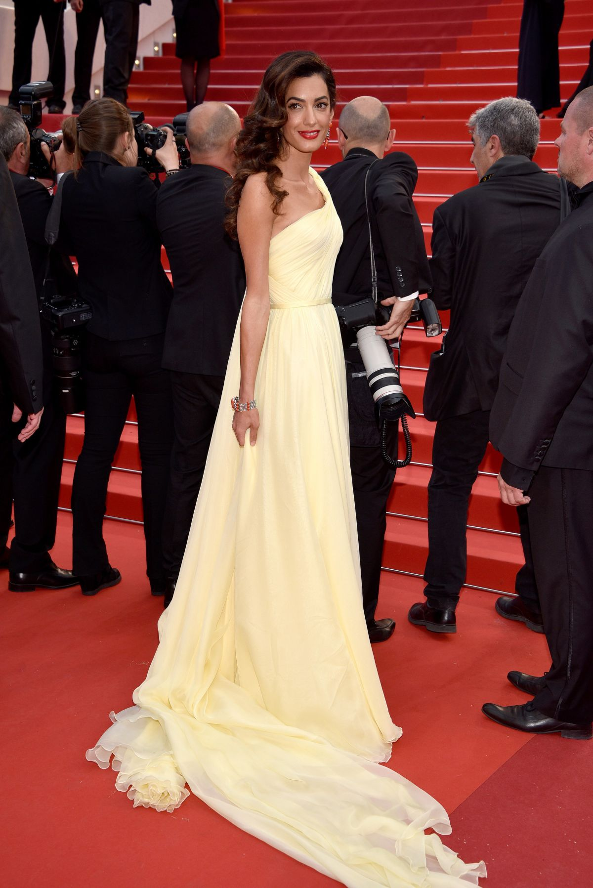 AMAL CLOONEY at 'Money Monster' Premiere at 69th Annual Cannes Film Festival 05/12/2016