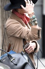AMBER HEARD Arrives at Her Hotel in New York 05/05/2016