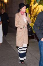 AMBER HEARD at Polo Bar in New York 05/05/2016
