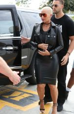 AMBER ROSE Out and About in Los Angeles 05/07/2016