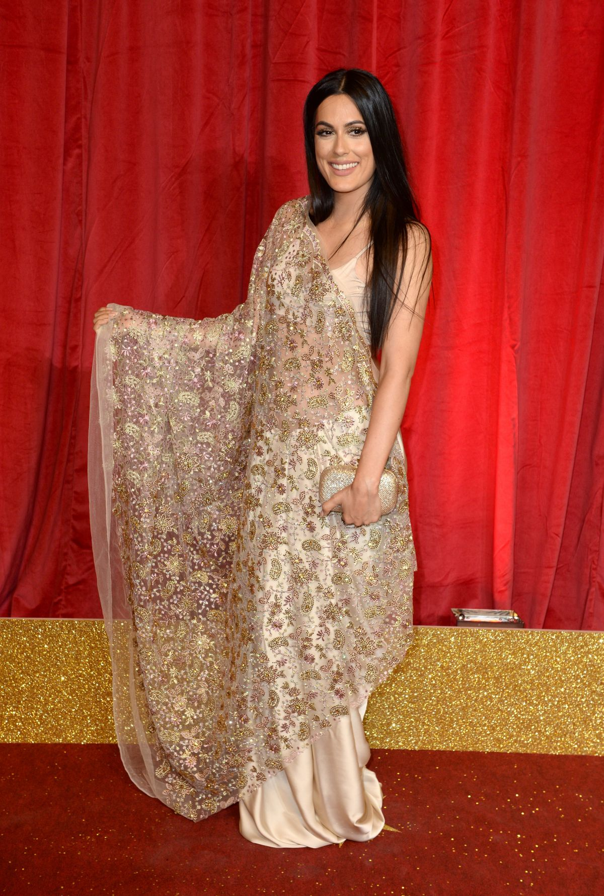 AMRIT MAGHERA at British Soap Awards 2016 in London 05/28/2016