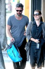 AMY ADAMS Out and About in Los Angeles 05/02/2016