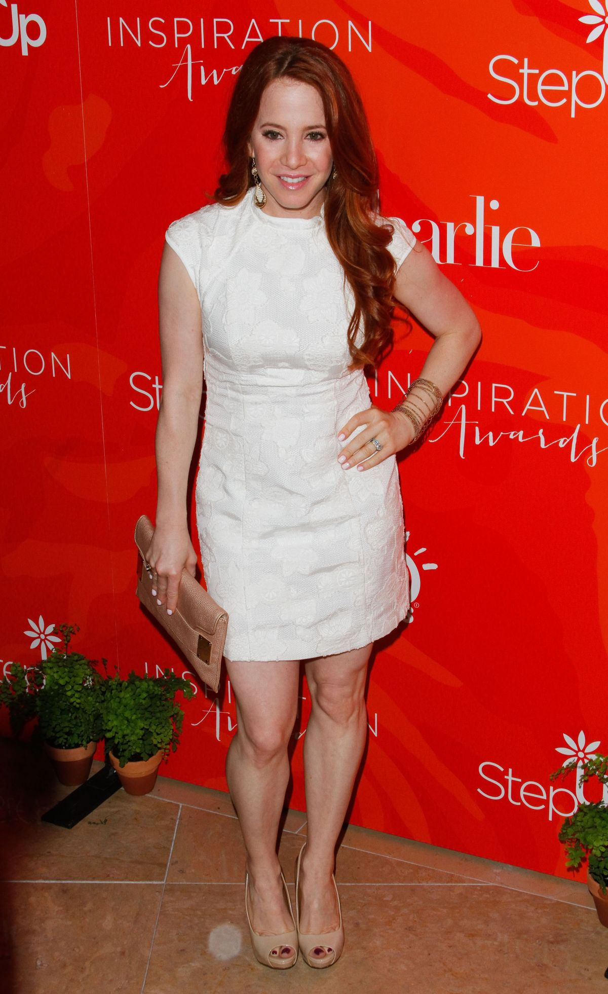 AMY DAVIDSON at 13th Annual Inspiration Awards to Benefit Step Up in Beverly Hills 05/20/2016