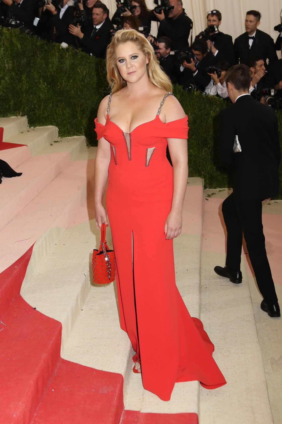 AMY SCHUMER at Costume Institute Gala 2016 in New York 05/02/2016