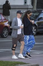 ANA IVANOVIC and Bastian Schweinsteiger Out in Madrid 04/30/2016