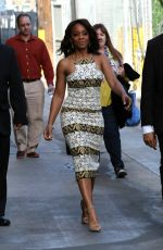 ANIKA NONI ROSE Arrives at Jimmy Kimmel Live in Hollywood 05/20/2016
