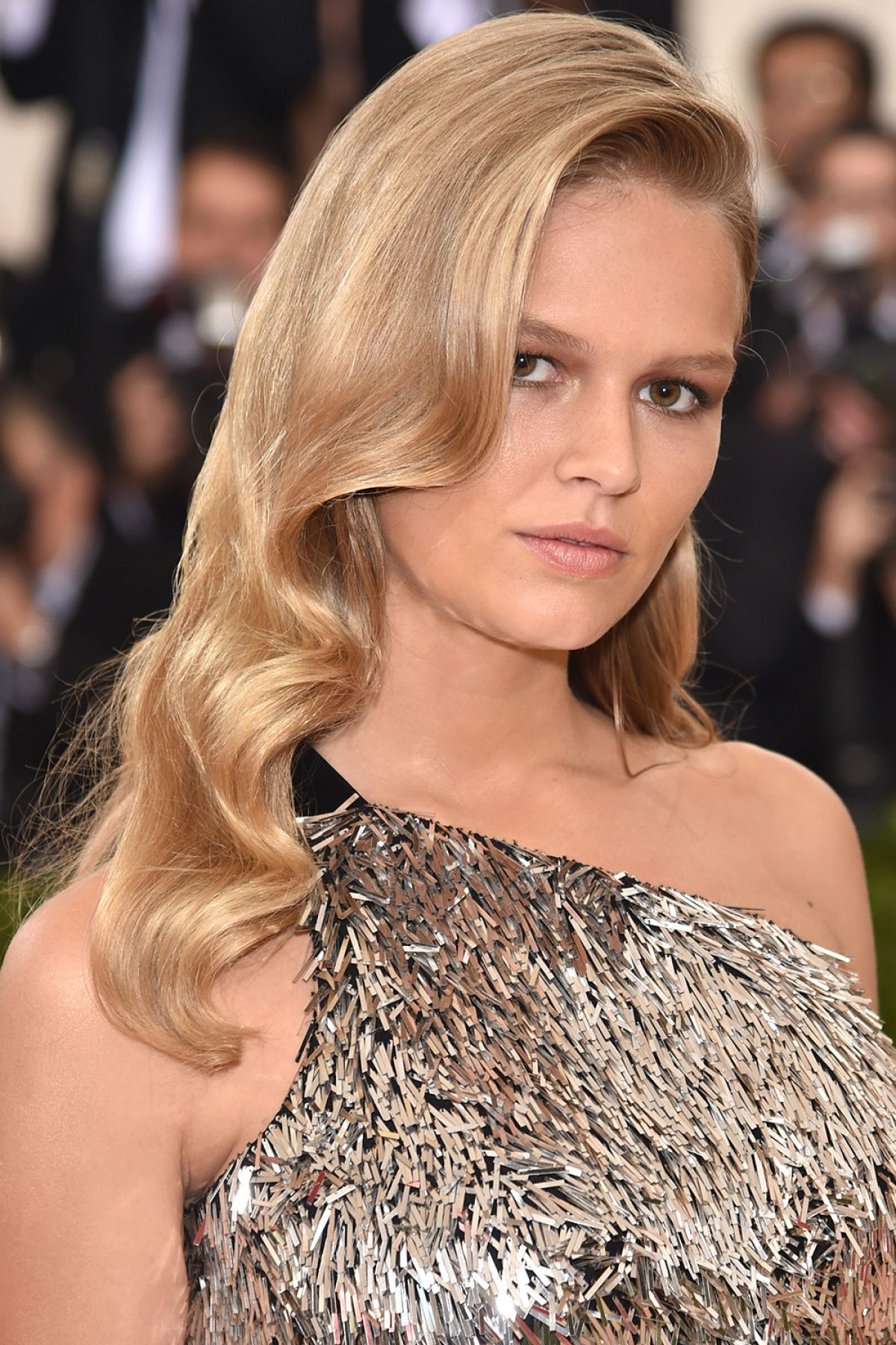 Anna Ewers By Karl Lagerfeld For: ANNA EWERS At Costume Institute Gala 2016 In New York 05