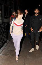 ANNA FRIEL Leaves Groucho Club in London 05/26/2016