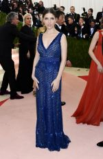 ANNA KENDRICK at Costume Institute Gala 2016 in New York 05/02/2016
