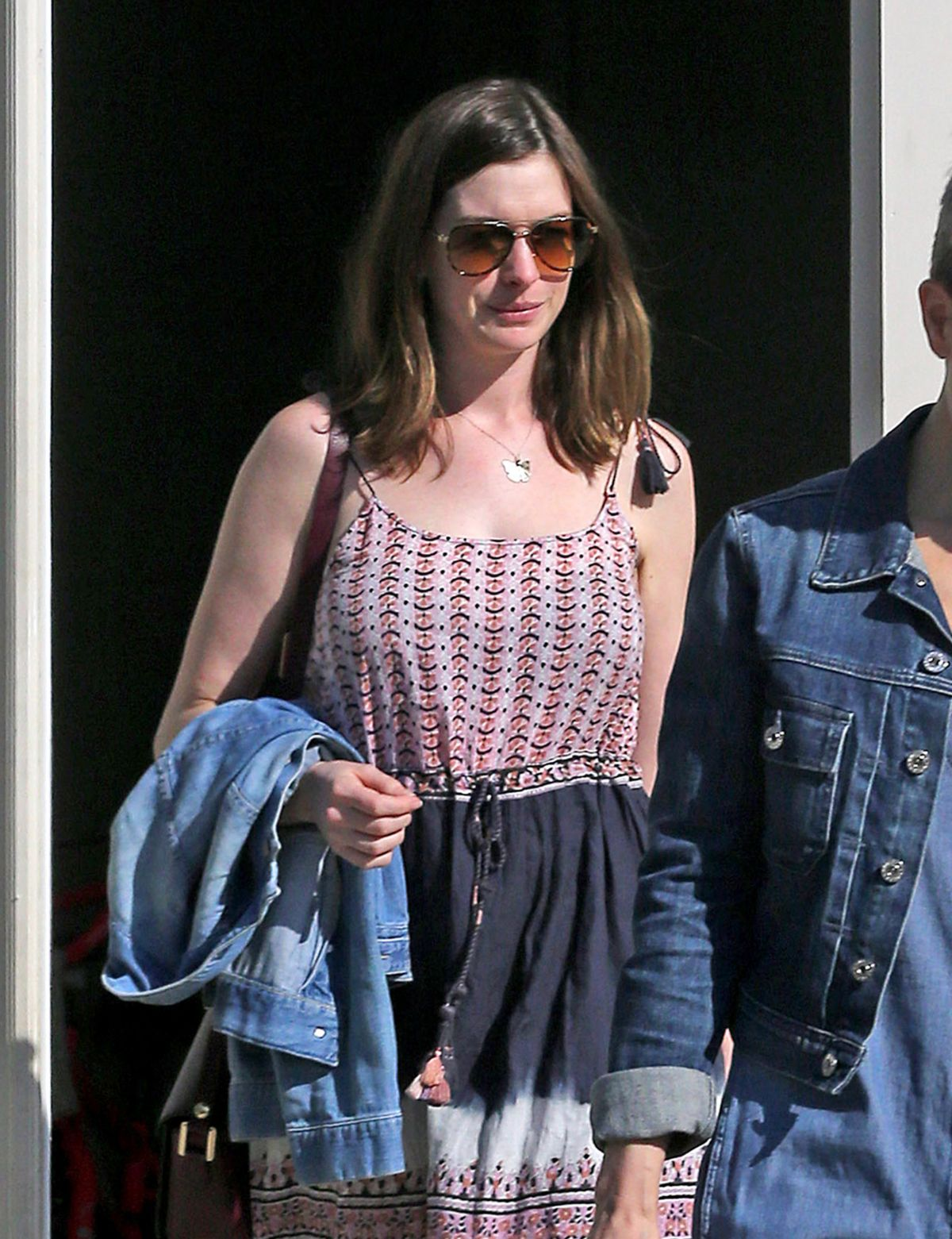 ANNE HATHAWAY Out in Los Angeles 05/11/2016