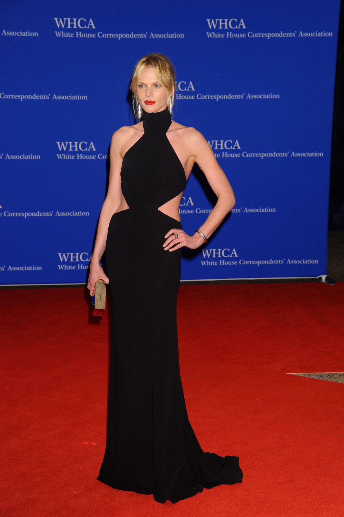 ANNE VYALITSYNA at White House Correspondents' Dinner in Washington 04/30/2016