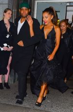 ARIANA GRANDE Leaves Delete Blood Cancer dkms Gala in New York 05/05/2016