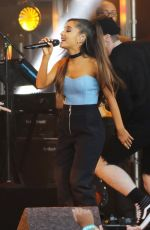 ARIANA GRANDE Performs at Jimmy Kimmel Live 05/12/2016