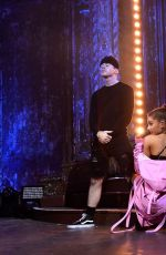 ARIANA GRANDE Performs at Vevo Presents in New York 05/18/2016