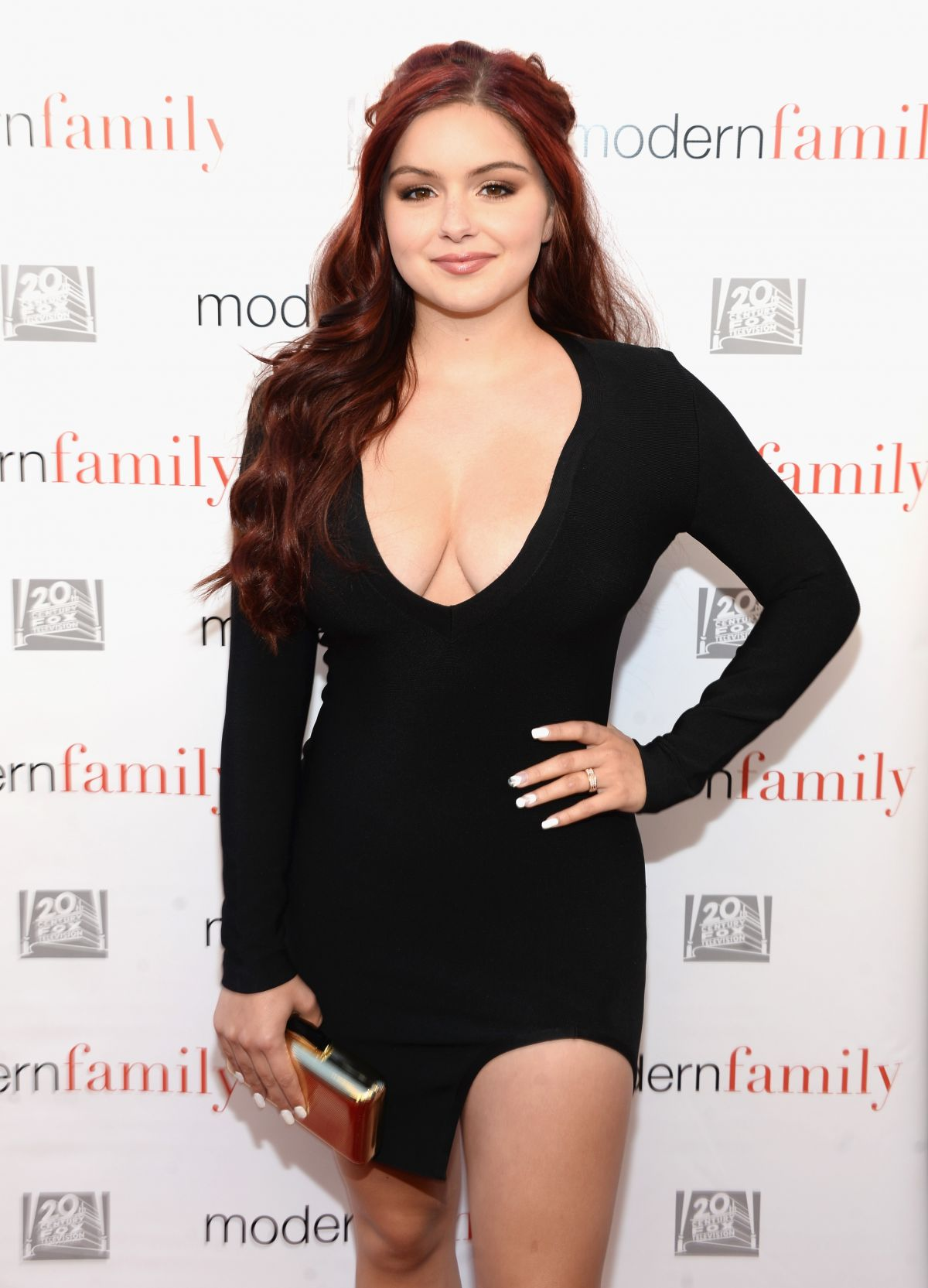 fbc85cdd65 ARIEL WINTER at Modern Family EMMY Event in Los Angeles 05/02/2016 ...