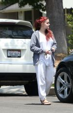 ARIEL WINTER Out House Hunting in Los Angeles 05/17/2016