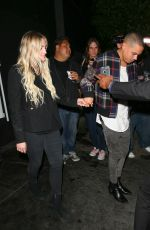 ASHLEE SIMPSON at Nice Guy in West Hollywood 05/10/2016