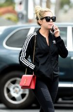 ASHLEY BENSON Out and About in Los Angeles 05/06/2016