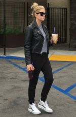 ASHLEY BENSON Out for Caoffe in West Hiollywood 05/25/2016