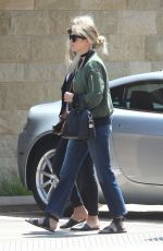 ASHLEY BENSON Out for Lunch on Memorial Weekend in Los Angeles 05/29/2016