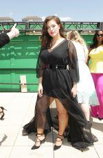 ASHLEY GRAHAM Christian Siriano x Lane Bryant Runway Show in New York 05/09/2016