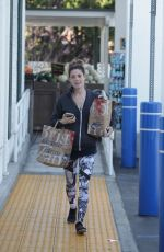 ASHLEY GREENE Shopping at Bristol Farms in Beverly Hills 05/12/2016