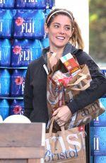 ASHLEY GREENE Shopping at Bristol Farms in West Hollywood 05/11/2016