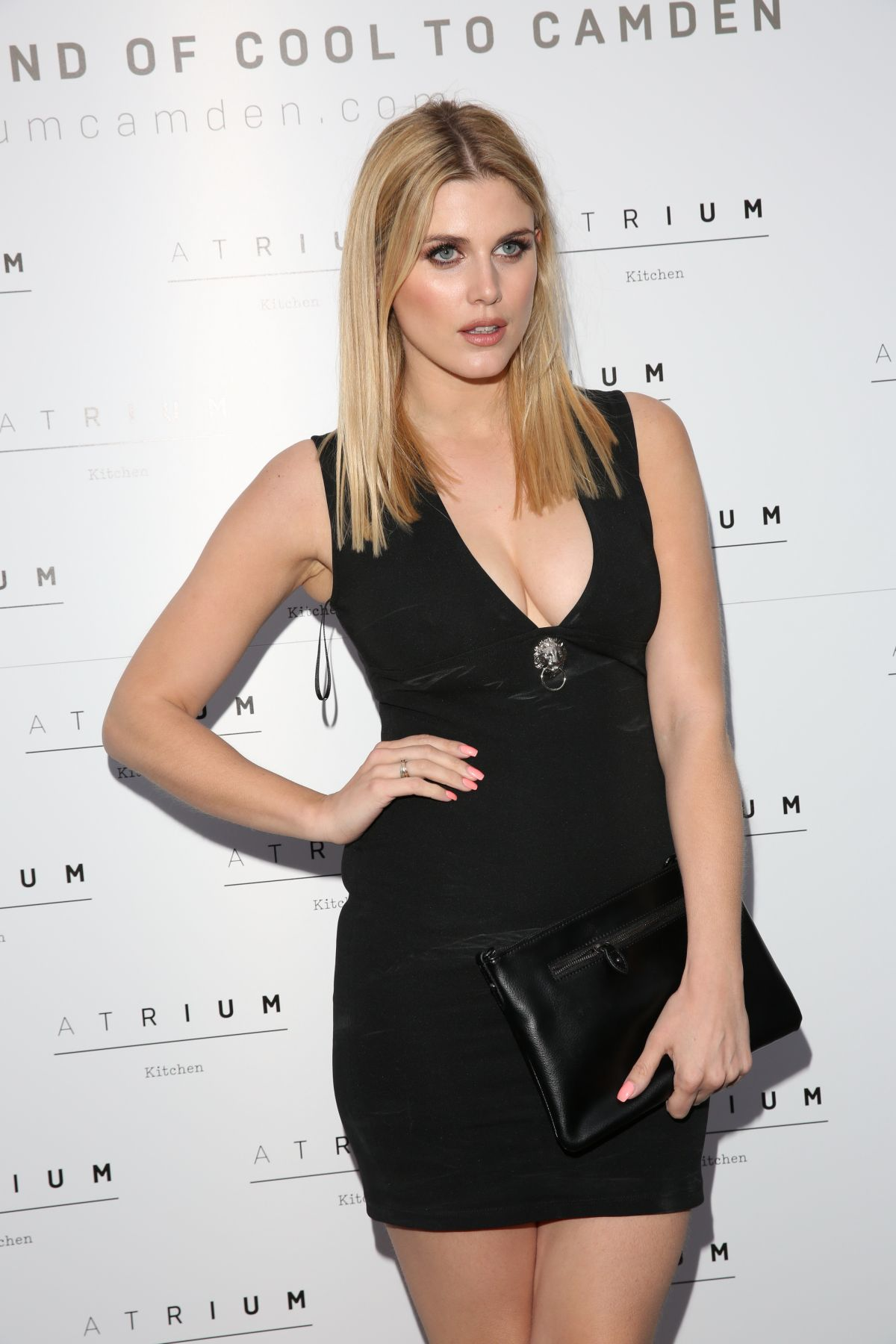 ASHLEY JAMES at Aatrium Kitchen Launch Party in Camden 05/25/2016