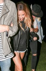 ASHLEY TISDALE at Beyonce's Concert in Pasadena 05/14/2016