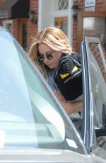 ASHLEY TISDALE Out and About in Los Angeles 05/12/2016.